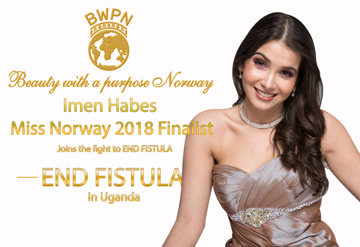 Imen Habes, Miss Norway 2018 finalist, joins the fight to end fistula