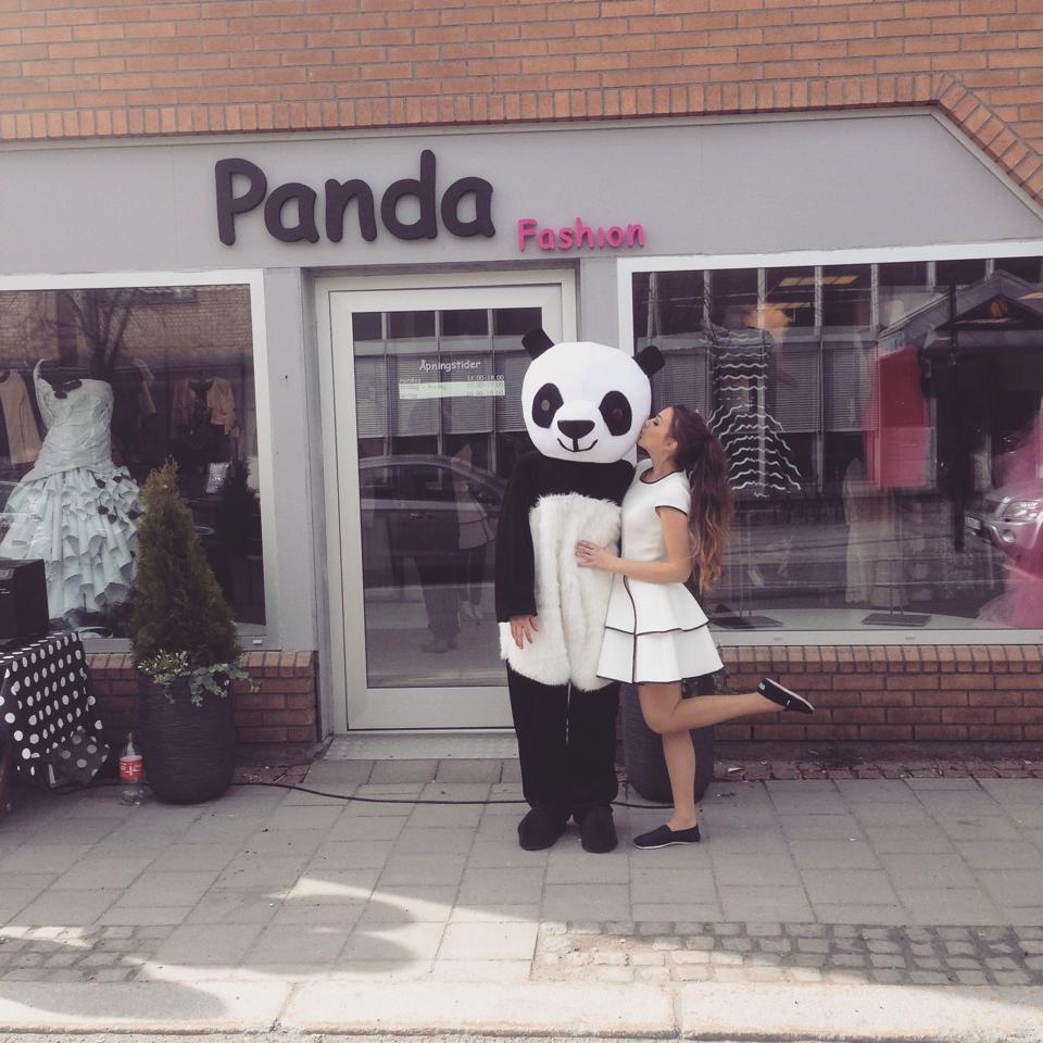 Levende Panda!